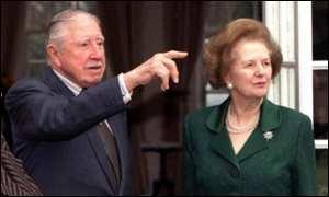 Pinochet y Thatcher